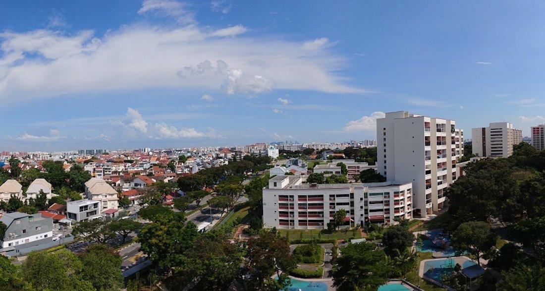 新加坡的有地住宅区