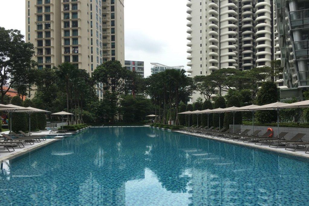 新加坡的私人公寓项目