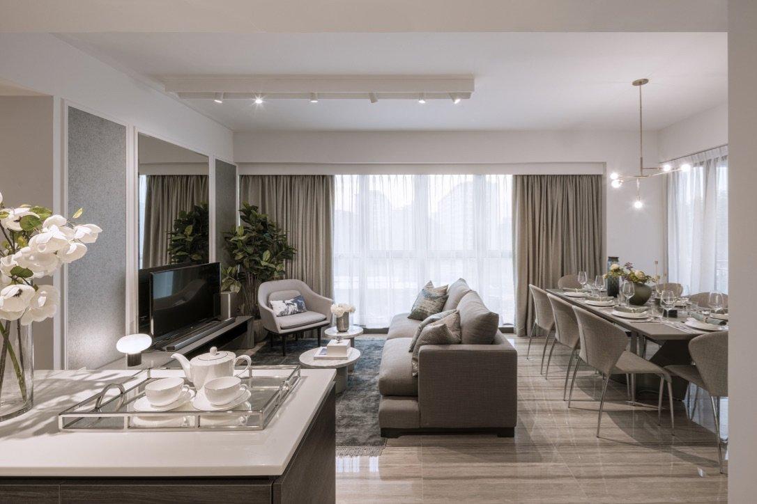 新加坡私人公寓带室内装潢