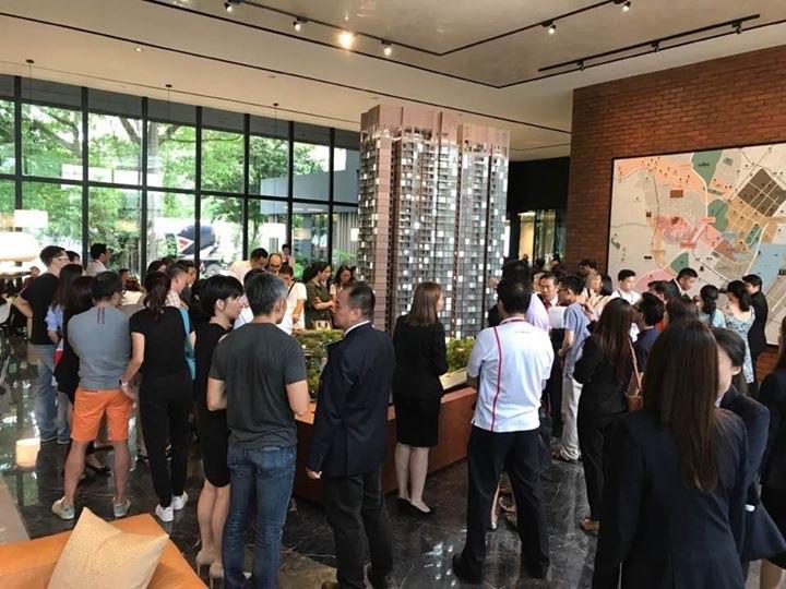 预约参观新加坡私人住宅楼盘销售示范展厅