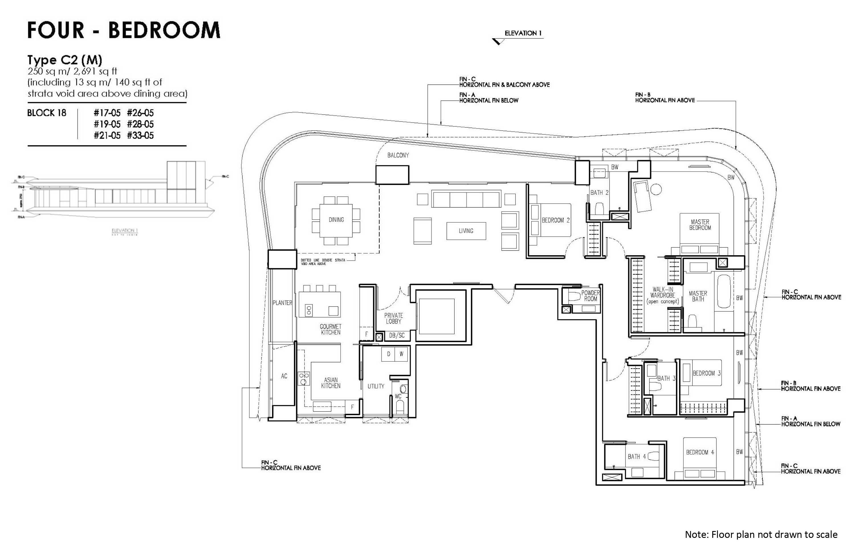 new futura 4 bedroom unit type C2 (M)