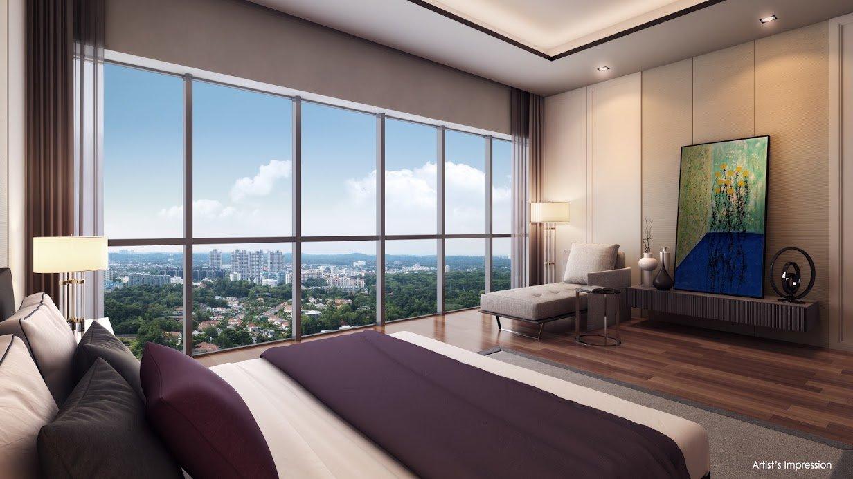 Queens Peak master bedroom