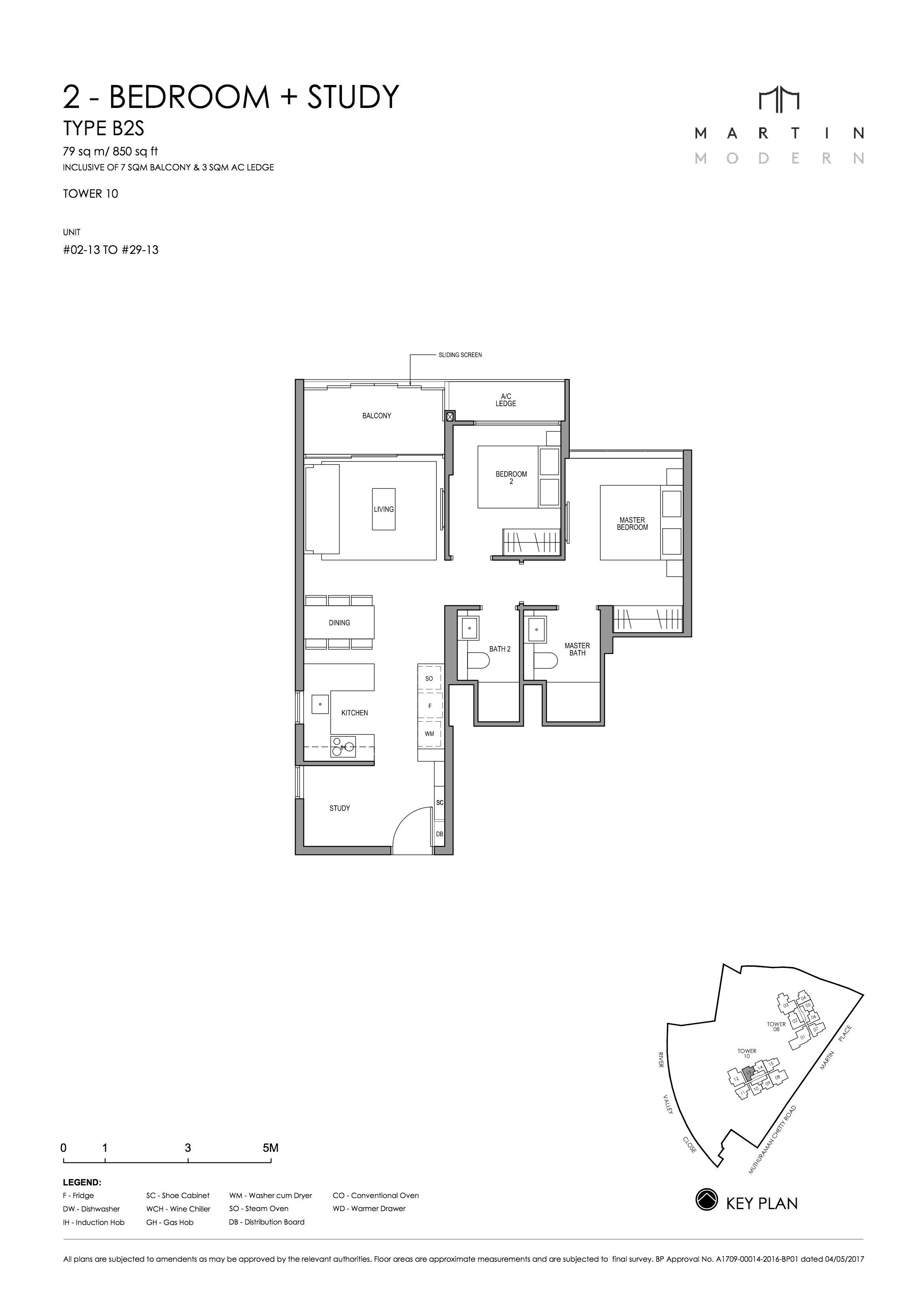 MARTIN MODERN 2-Bedroom TYPE B2S