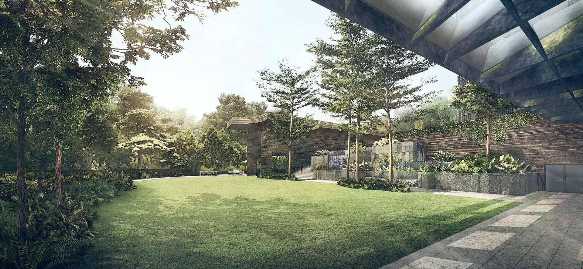 Martin Modern party lawn