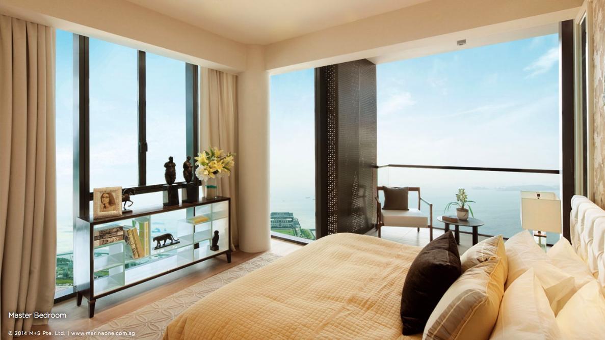 滨海盛景豪苑 marina one residences 4 bedroom master room 1