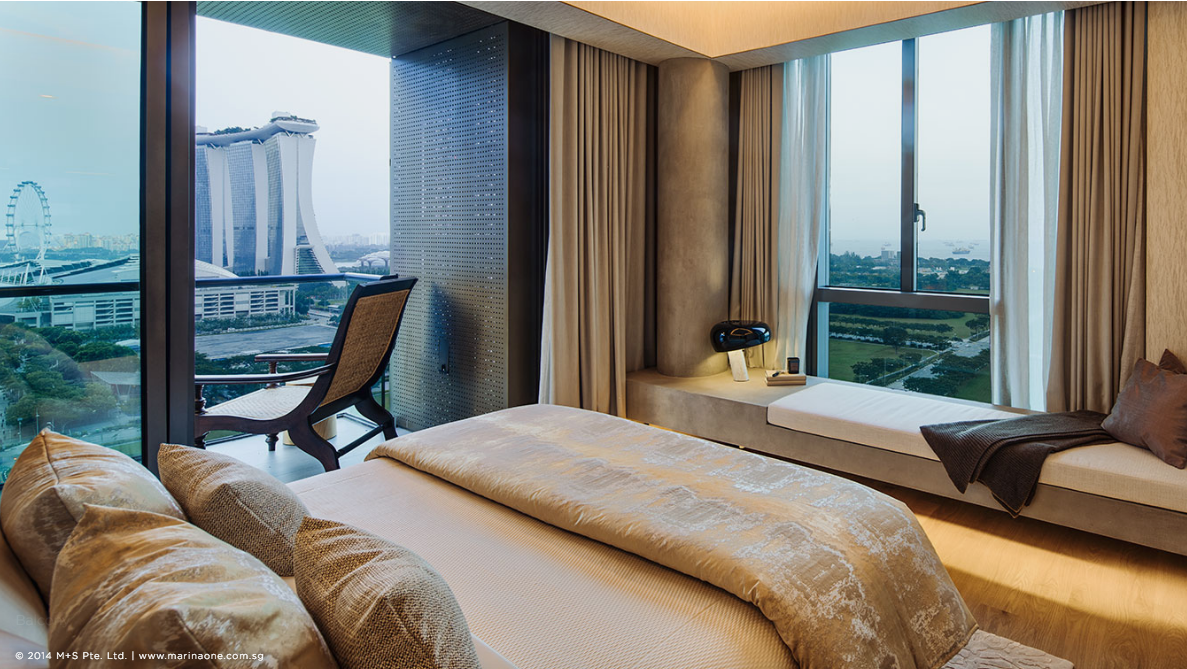 滨海盛景豪苑 marina one residences 4 bedroom master room 2
