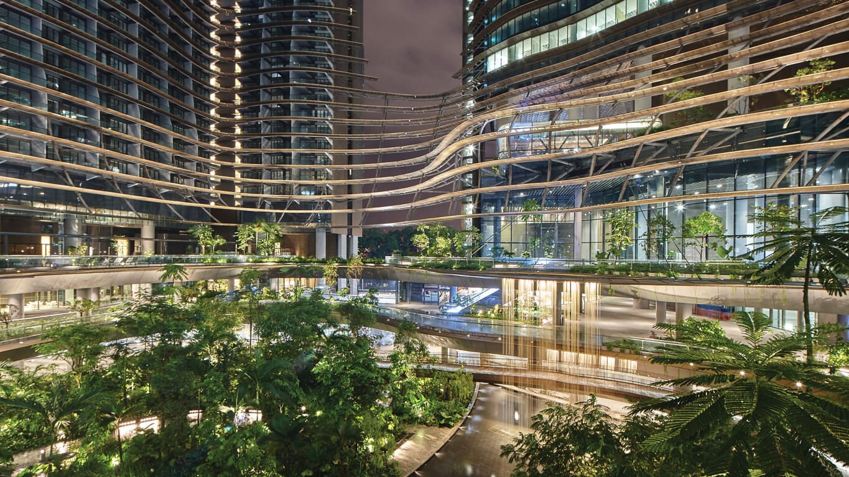 marina one residences- green heart 滨海盛景豪苑绿色之心