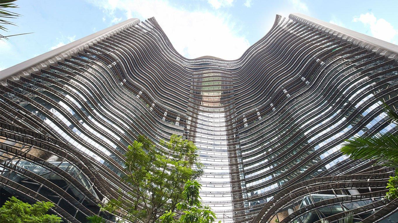 滨海盛景豪苑 marina one residences uplook view