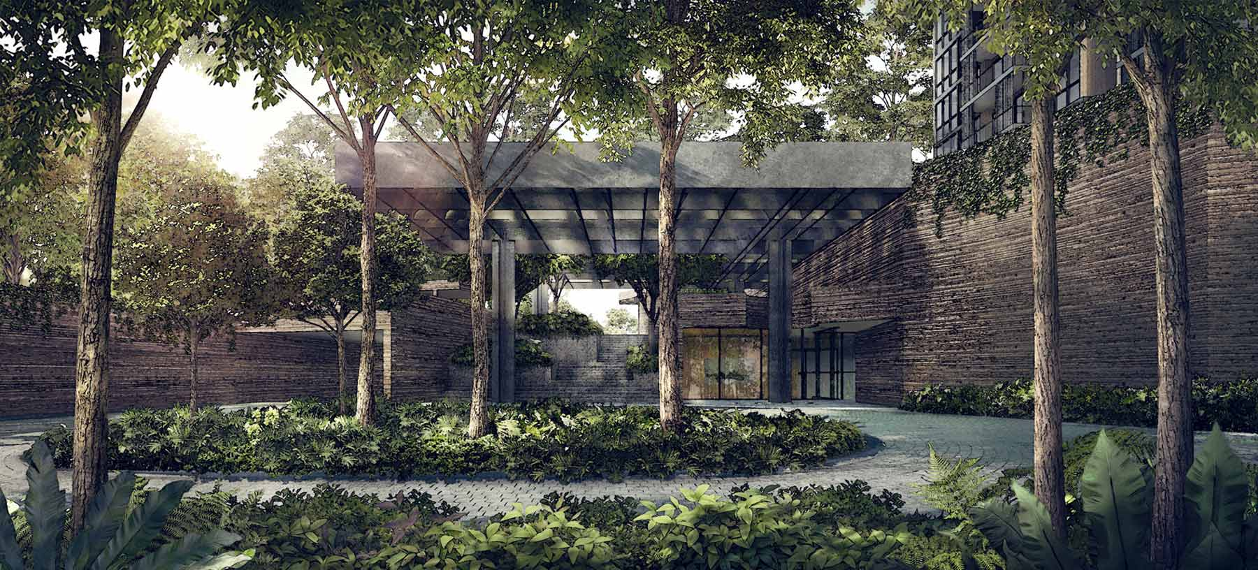 玛庭豪苑 martin modern grand entrance