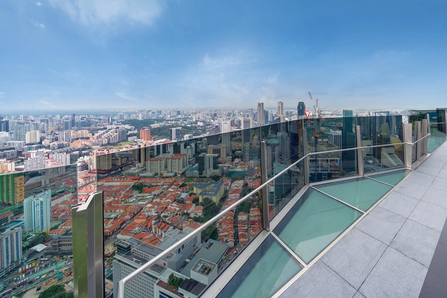 华利世家 wallich residence sky viewdeck