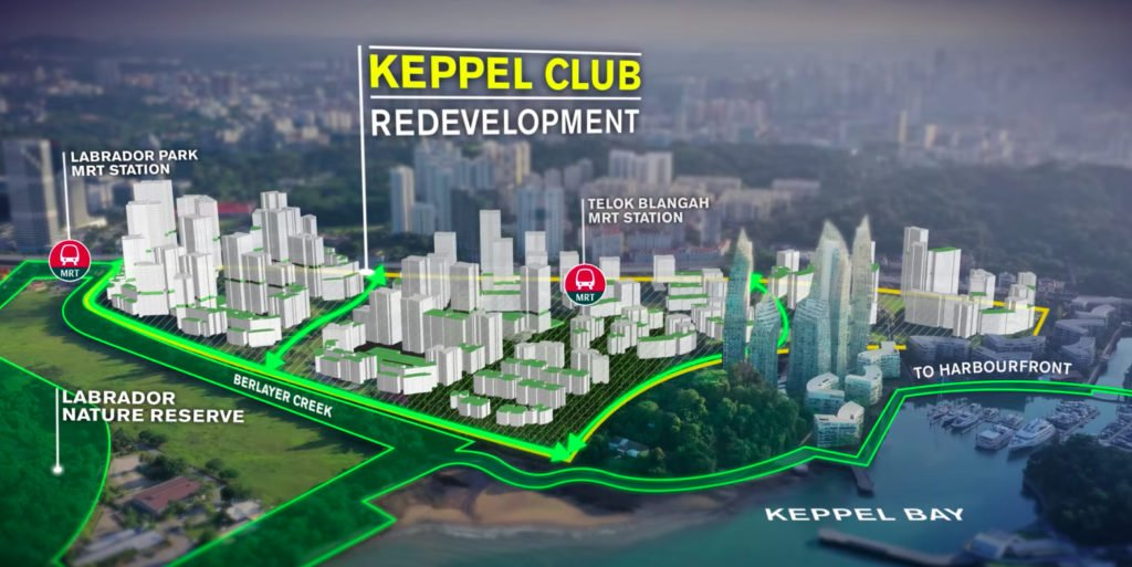 Keppel bay club redevelopment 岌巴高尔夫球俱乐部重新发展
