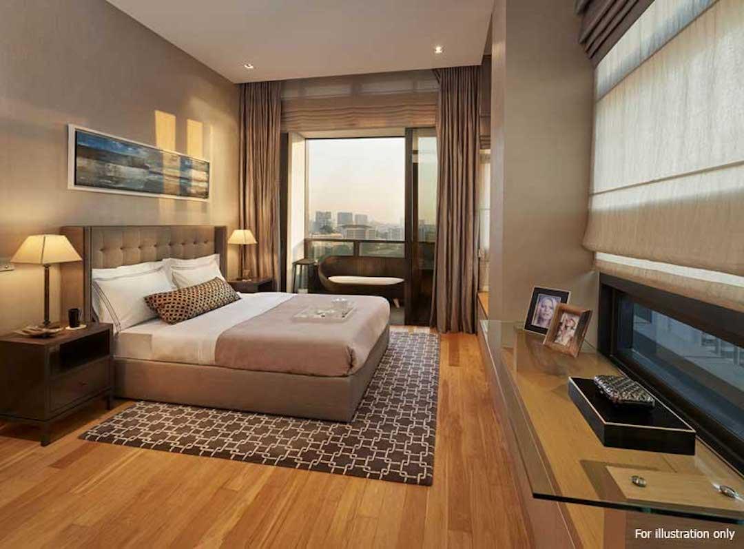 Nouvel 18 明筑公寓 -示范单位卧室