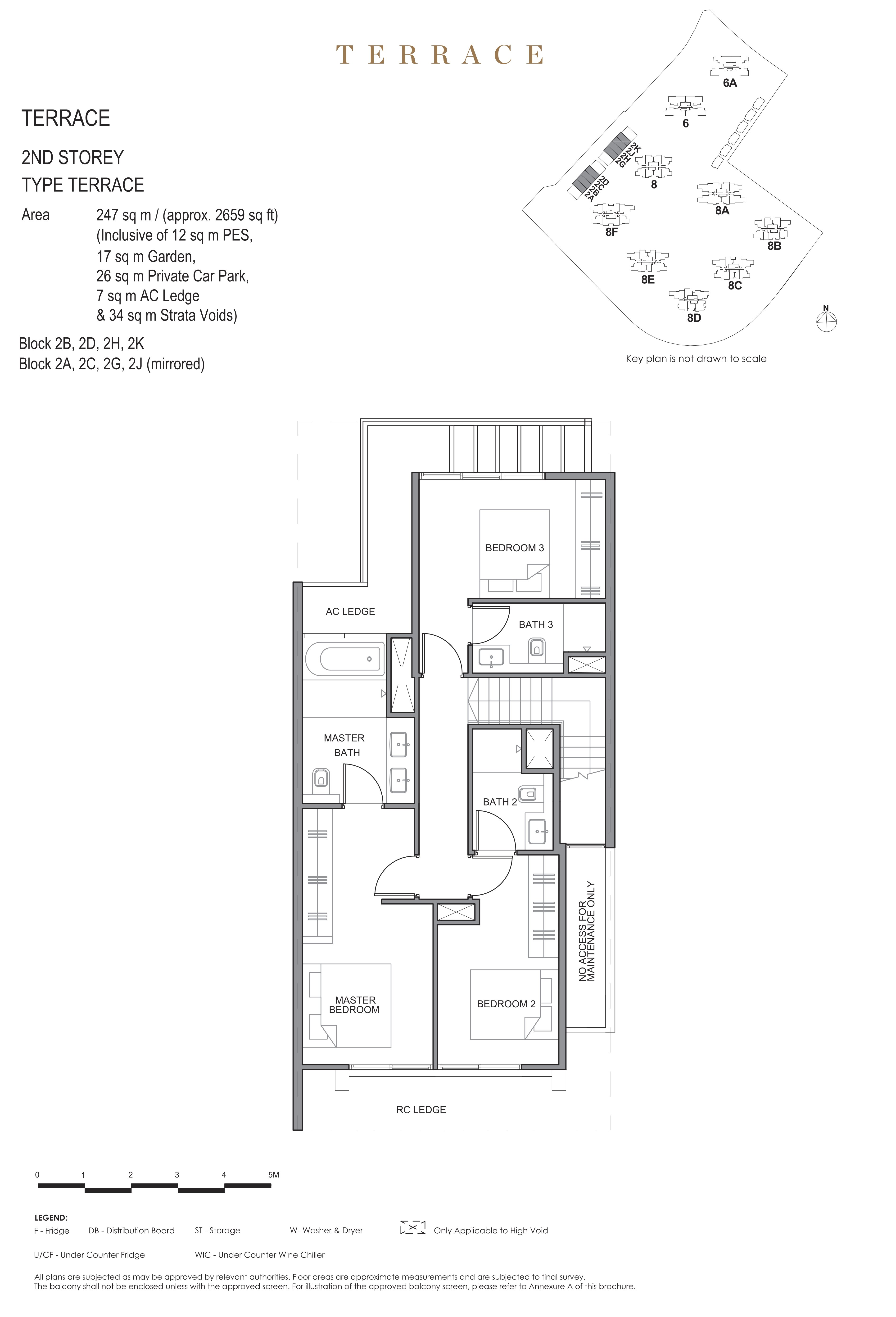 Parc Clematis 锦泰门第 masterpiece Intermediate Terrace 2nd storey