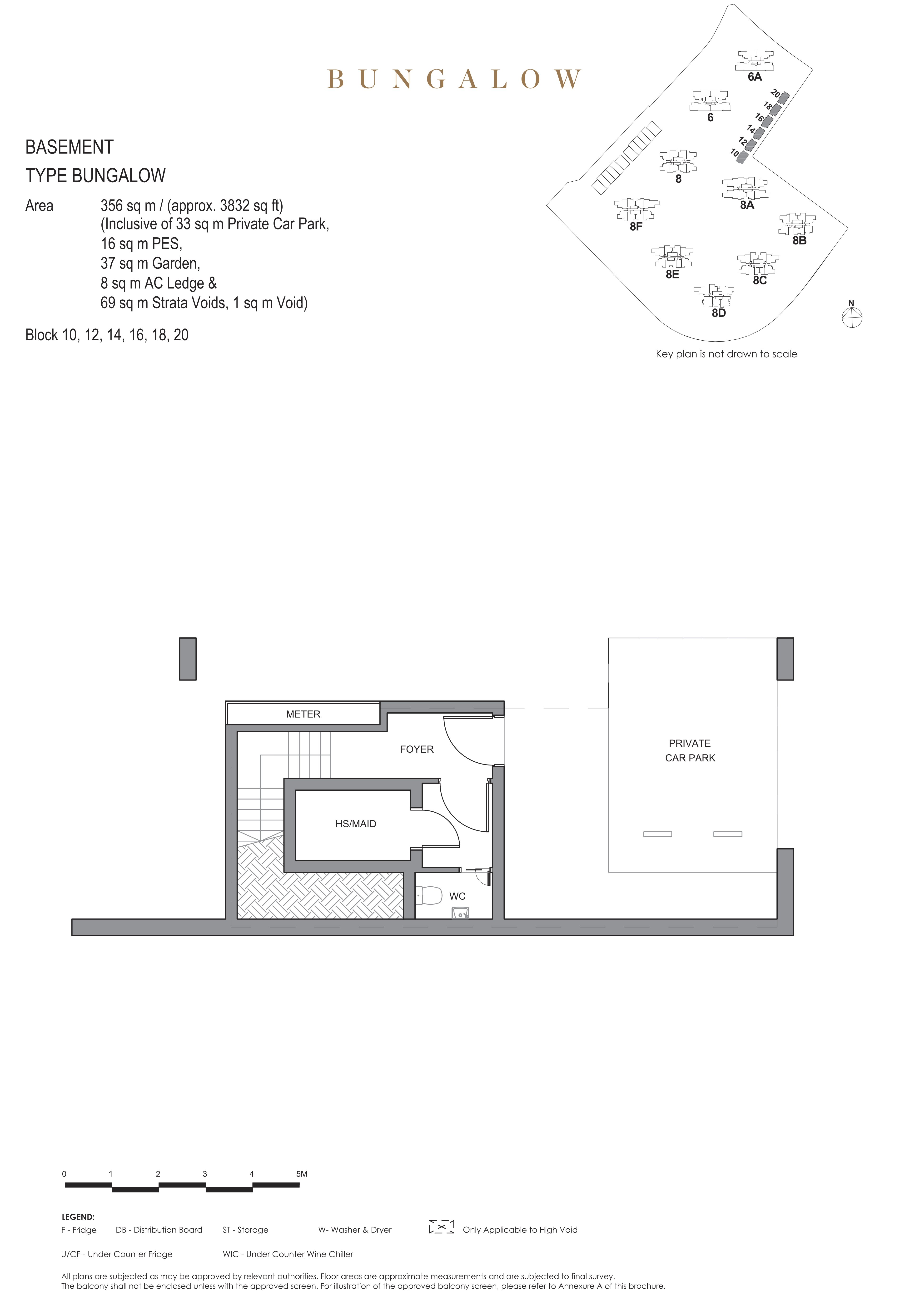Parc Clematis 锦泰门第 masterpiece bungalow basement