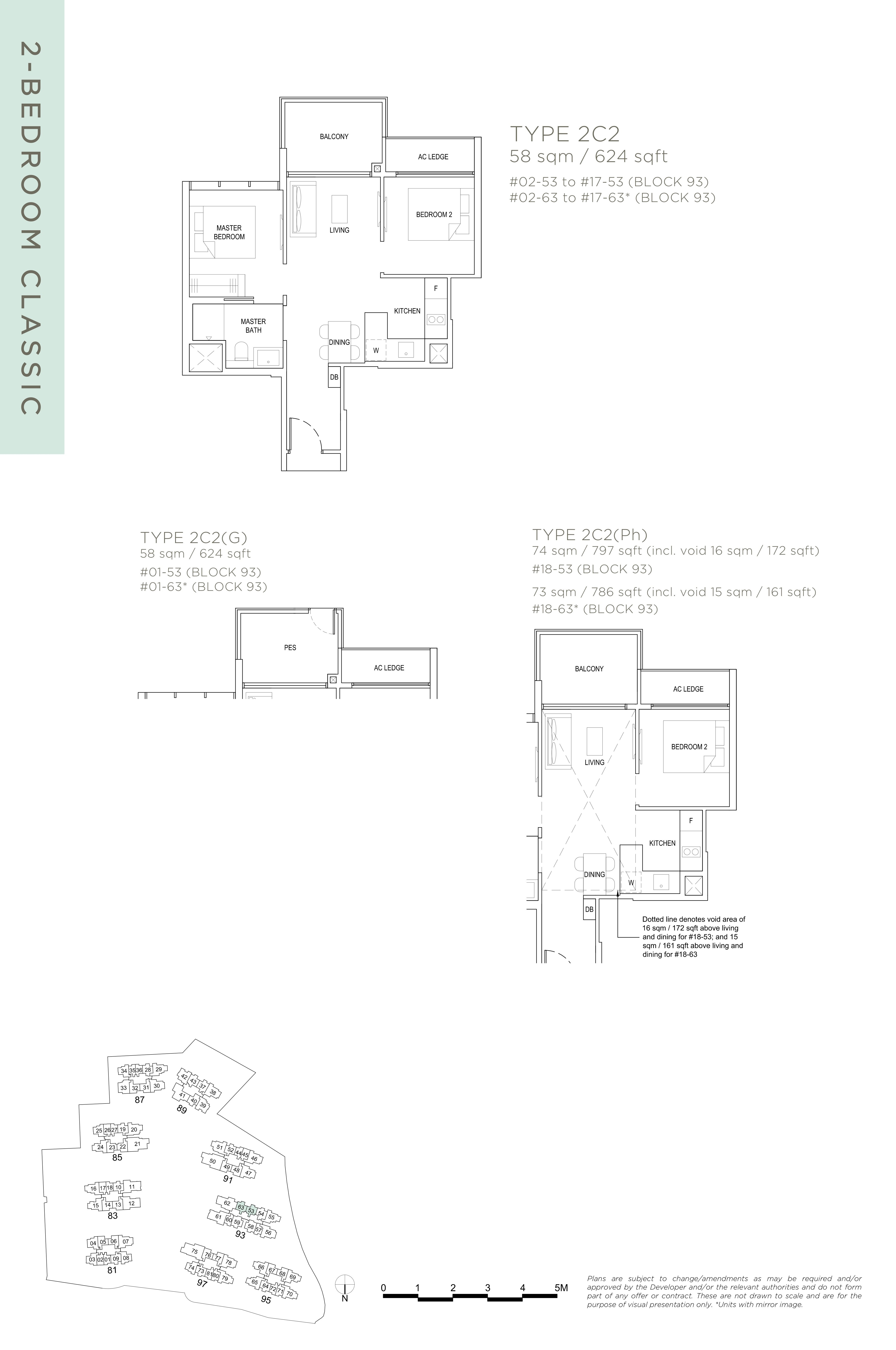 The Florence Residences 2-bedroom 2卧房 -2C2