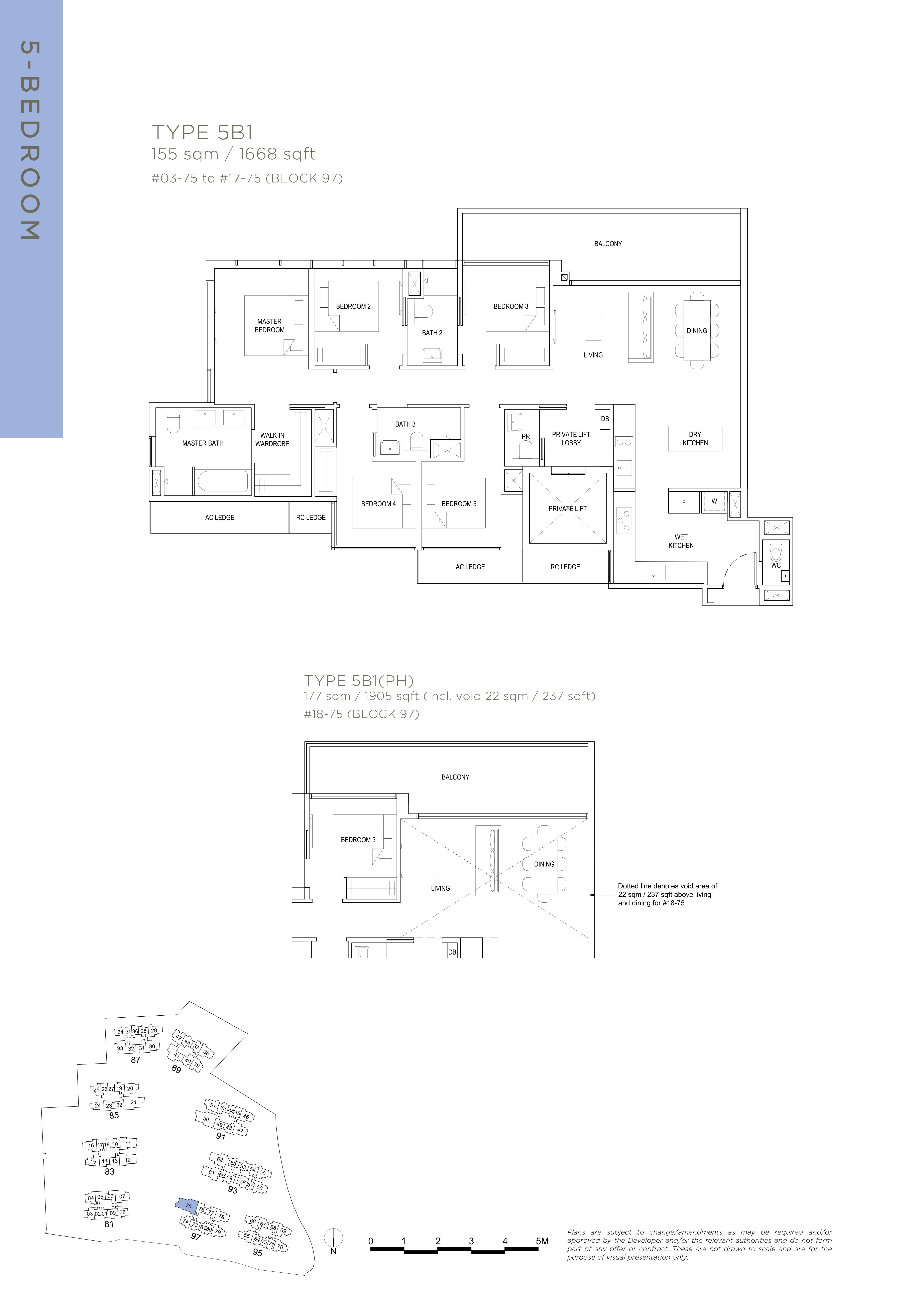 The Florence Residences 5-bedroom 5卧房 -5B1