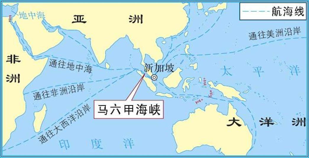 新加坡地理位置优越航运中心