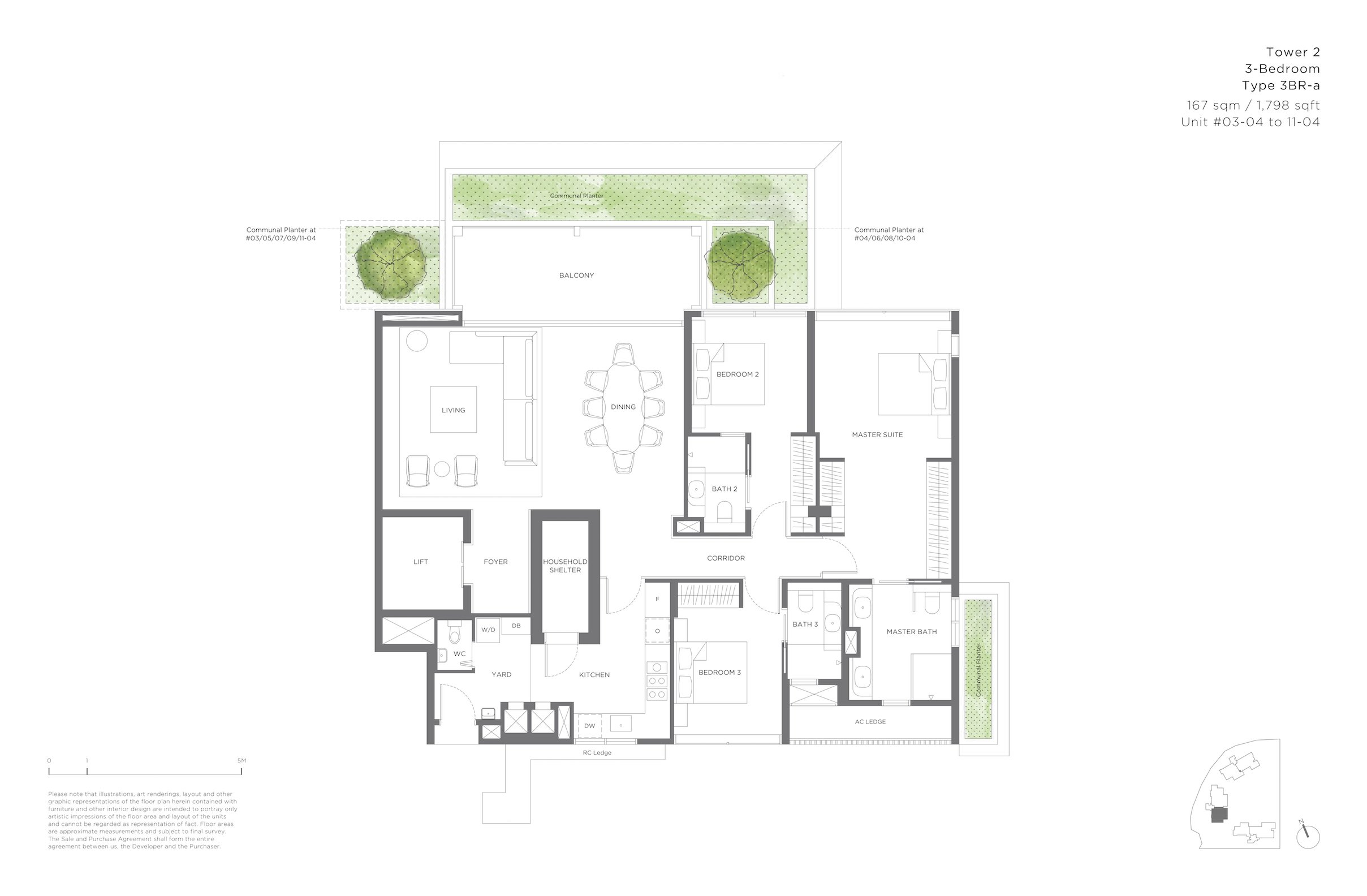 15 Holland Hill 荷兰山公寓3-bedroom 3br-a