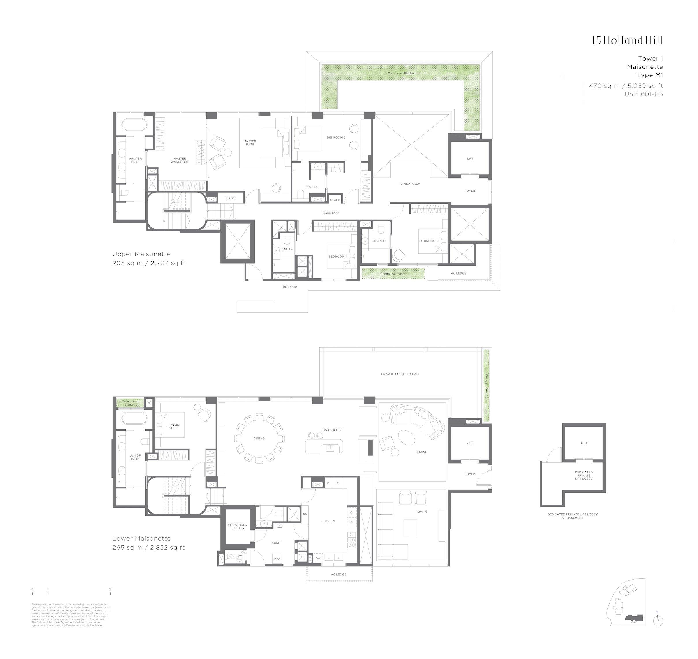 15 Holland Hill 荷兰山公寓 5-bedroom Maisonette m1
