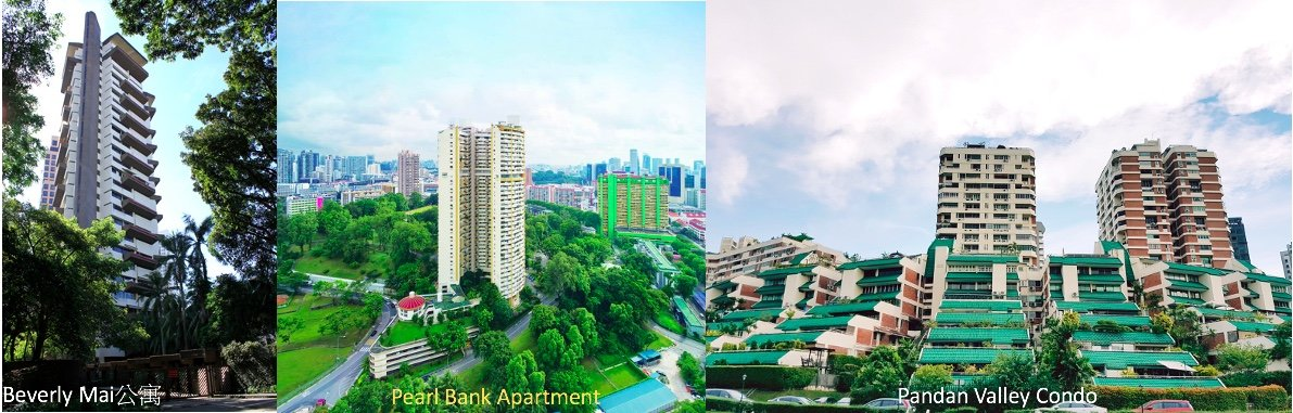 Singapore oldest condo 新加坡第一批私人公寓