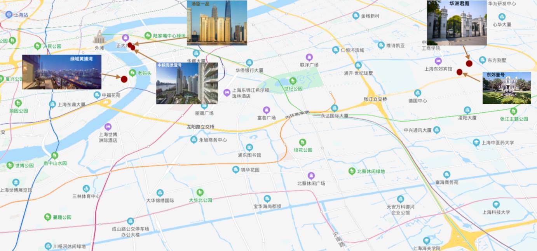 Shanghai luxury home 上海豪宅区外滩滨江浦东新区