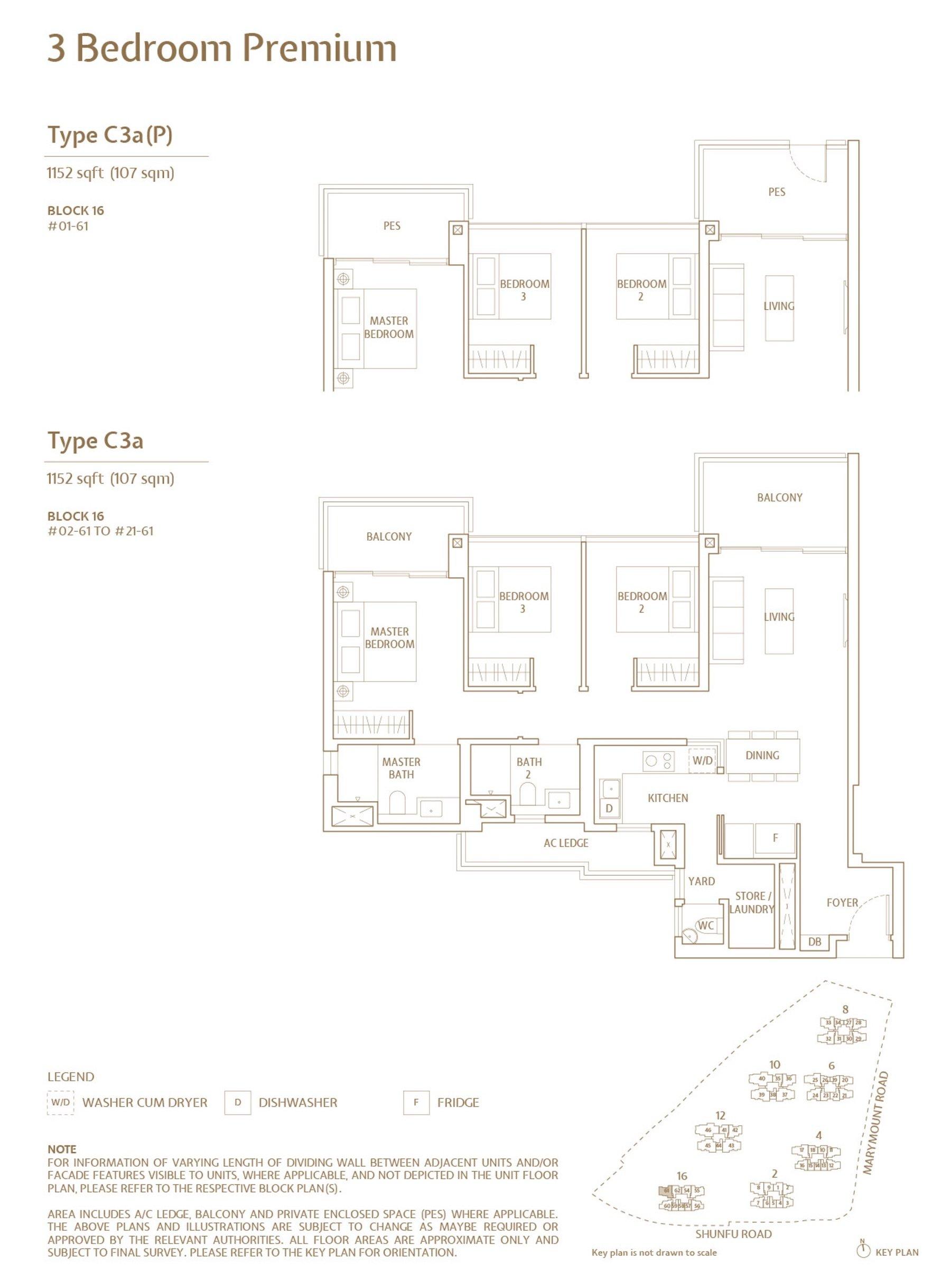 Jadescape 顺福轩 condo 3 bedroom type C3a