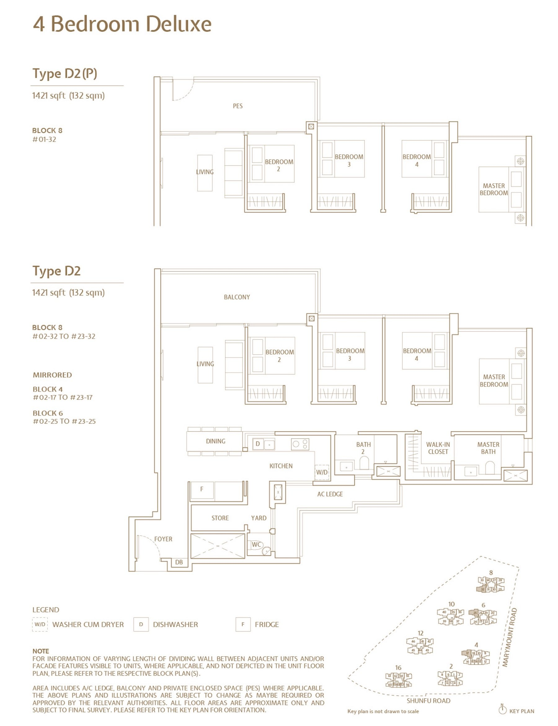 Jadescape 顺福轩 condo 4 bedroom type D2