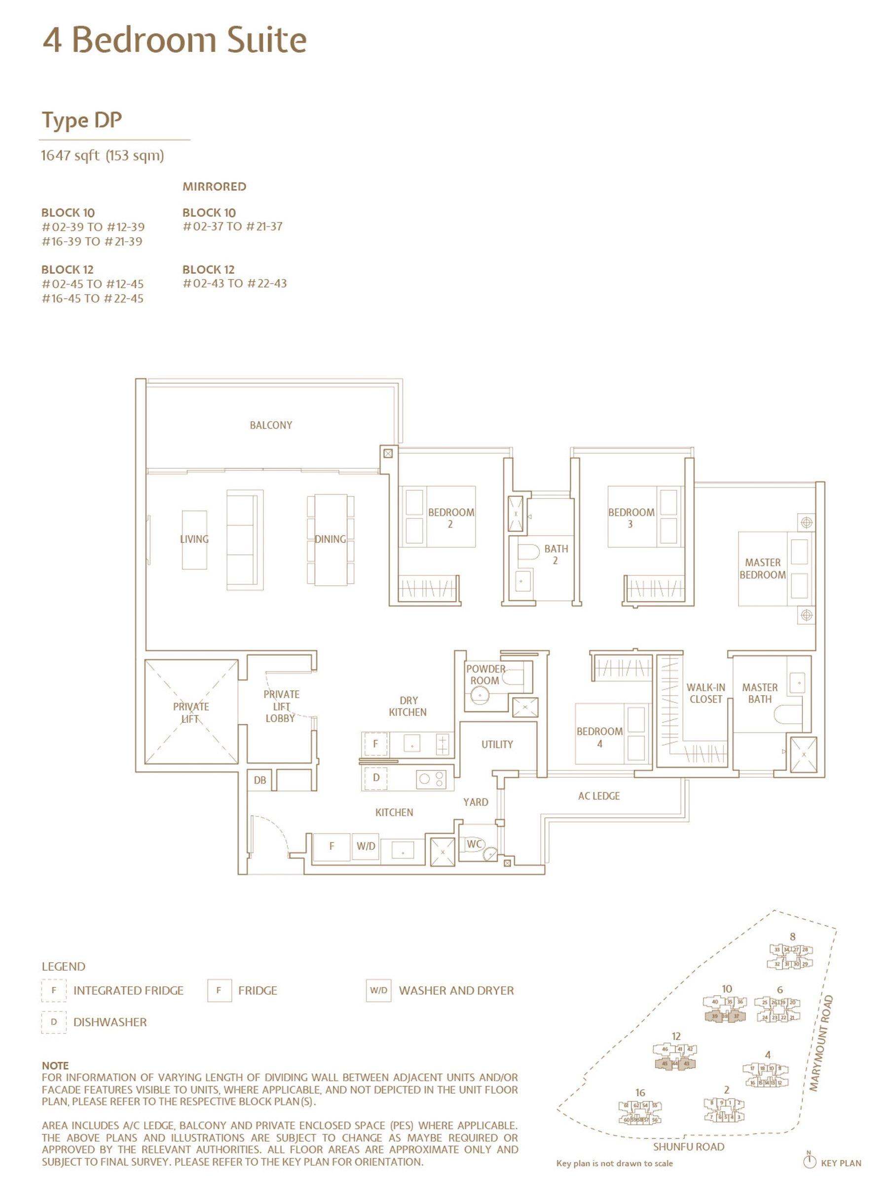 Jadescape 顺福轩 condo 4 bedroom type DP