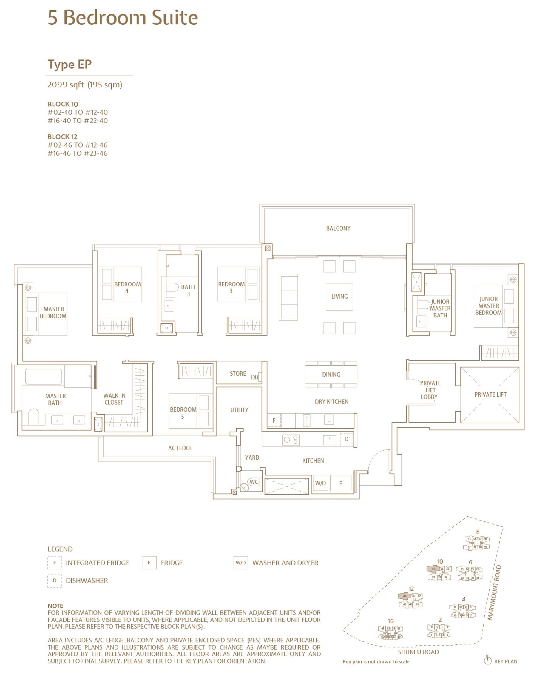 Jadescape 顺福轩 condo 5 bedroom type EP