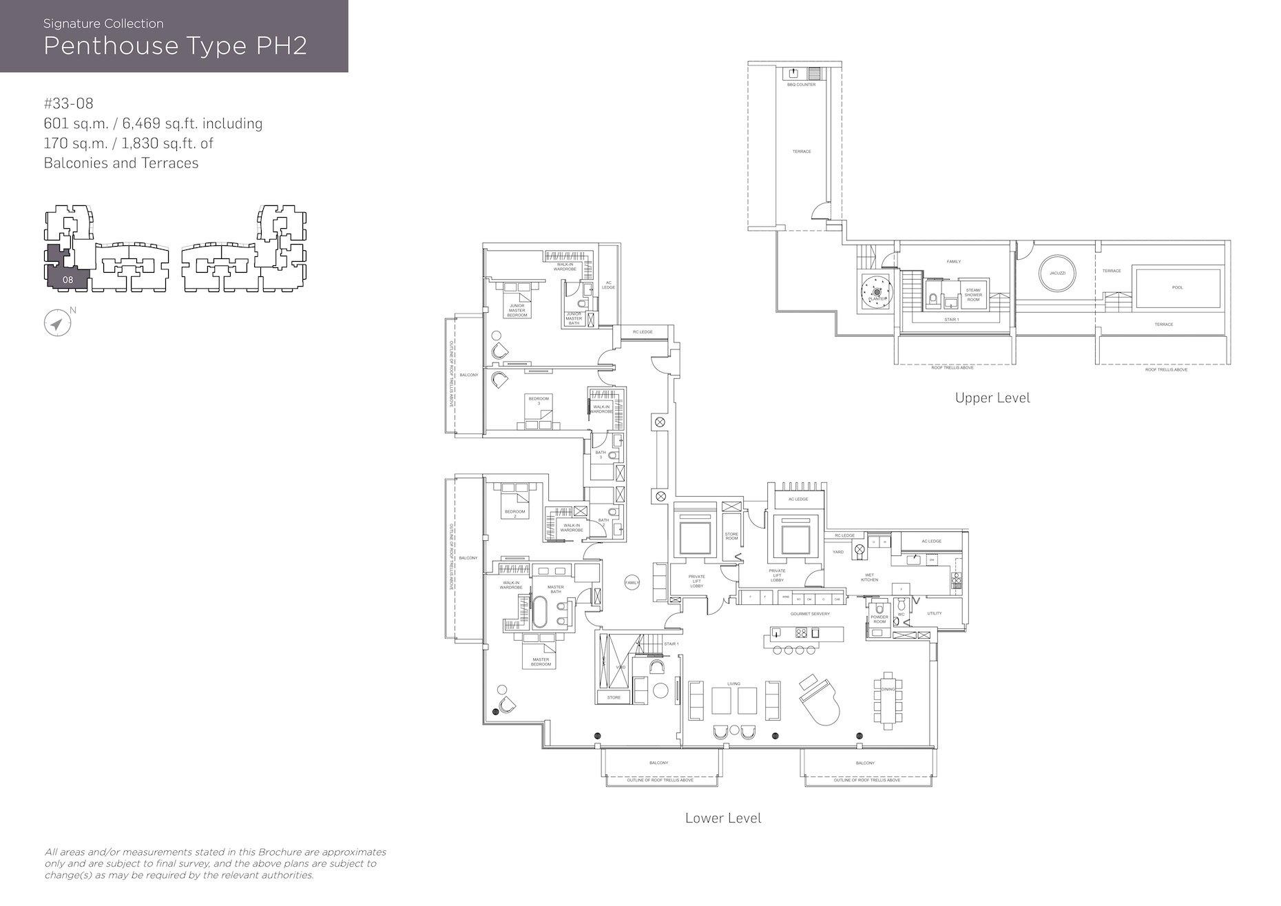 Marina One Residences 滨海盛景豪苑 floor plans PH2
